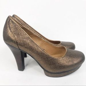 Sofft Copper High Heel Pumps